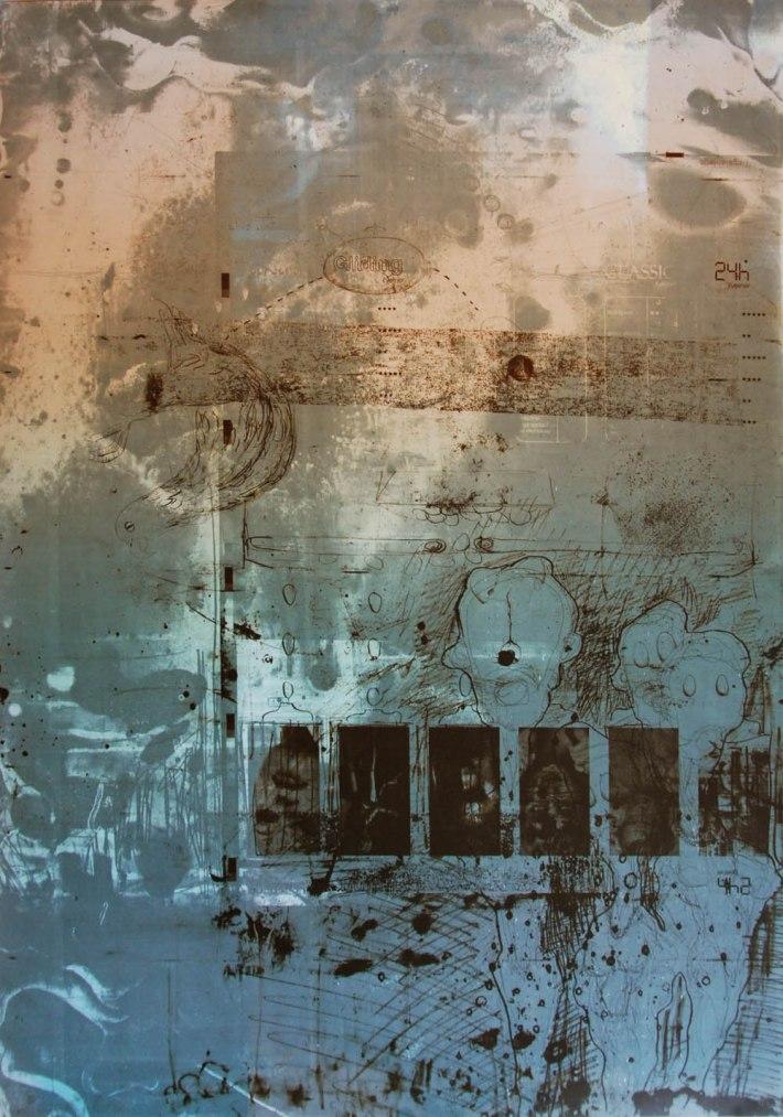 Eiliner, mit Constantin Tauscher, 70x49cm